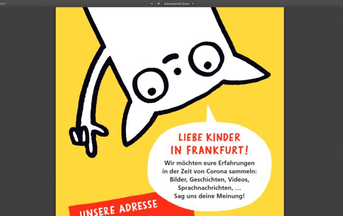 """Screenshot Frankfurter Bürgerbüro """"Sag deine Meinung"""""""