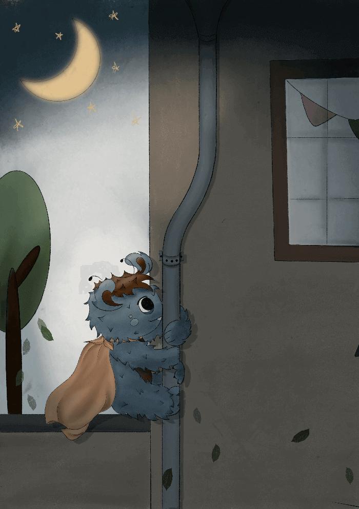 """""""Trollo, das kleine Kuschelmonster"""" ©Heike Rau und Barbara Schweitzer"""