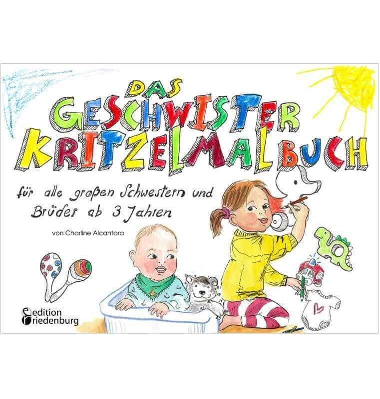 """""""Das Geschwister Kritzelmalbuch"""""""